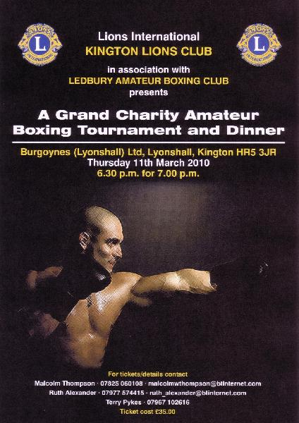 Grand Charity Amateur Boxing Evening